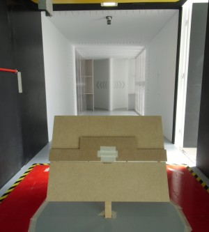 The Ariostat completes the first phase of wind tunnel tests
